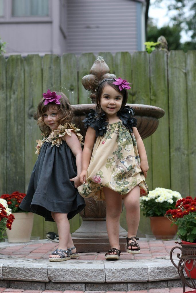 Pretty Little Fairy Flower Girl Dress