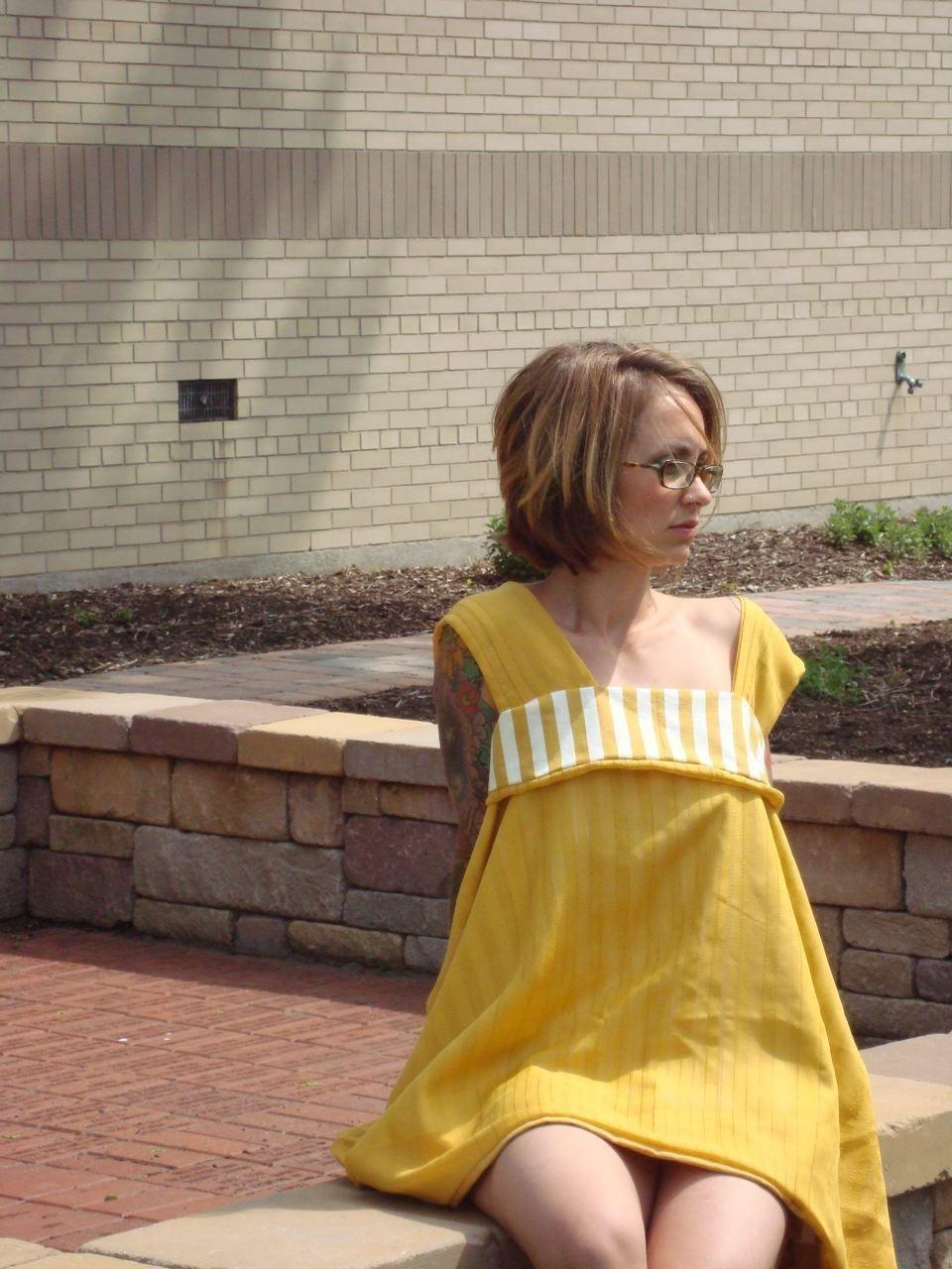 Custom Vintage Babydoll Dress on Luulla