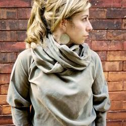 Curl Up with Fall Cowl Neck Sweater